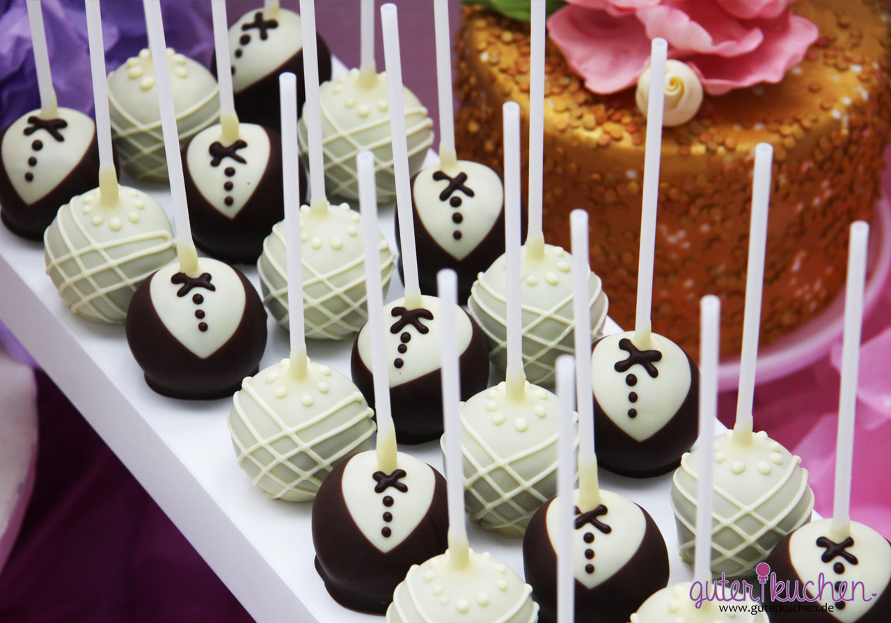 cake pops br utigam als give away auf deiner hochzeit. Black Bedroom Furniture Sets. Home Design Ideas