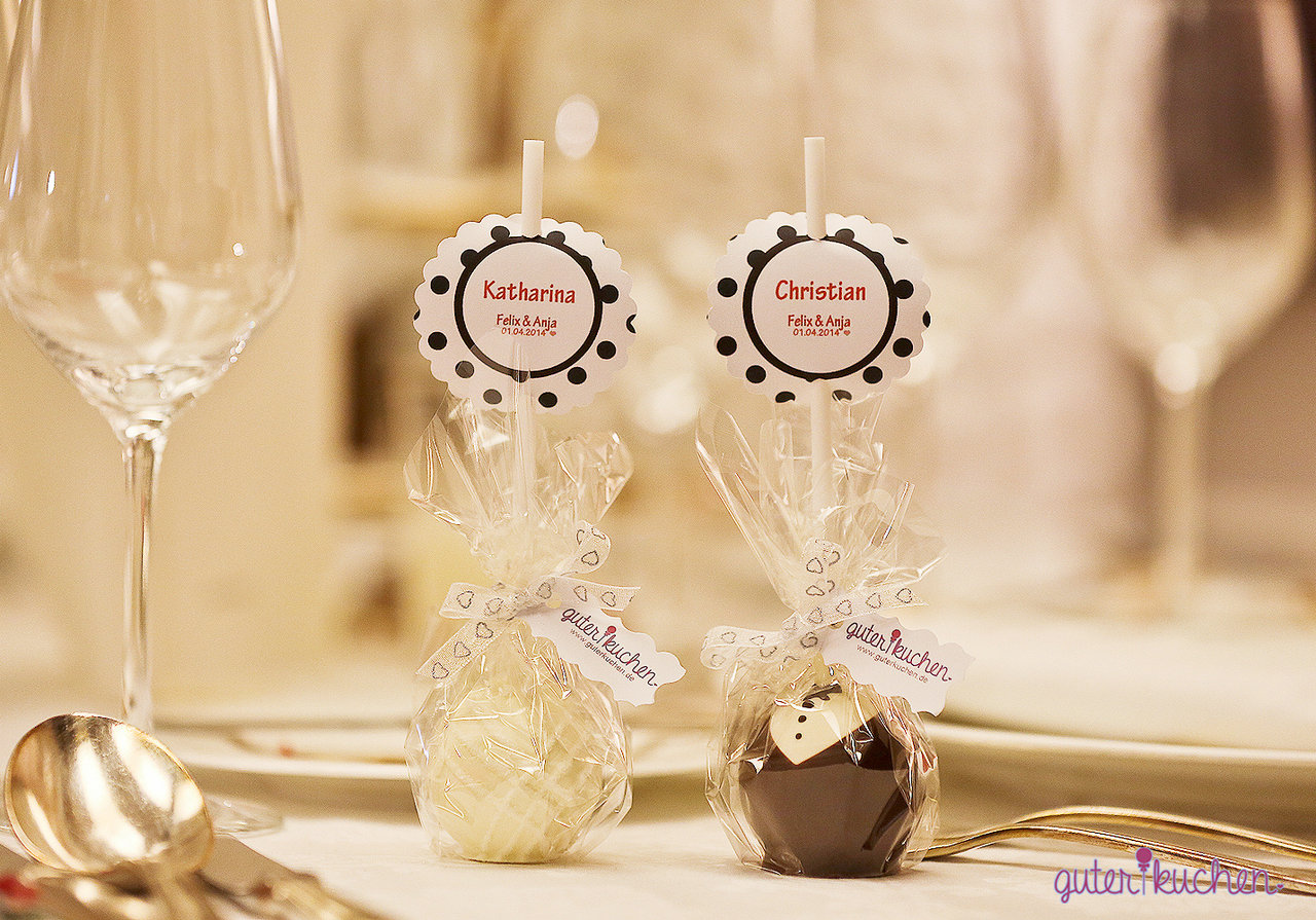 cake pops platzk rtchen als give away auf deiner hochzeit. Black Bedroom Furniture Sets. Home Design Ideas
