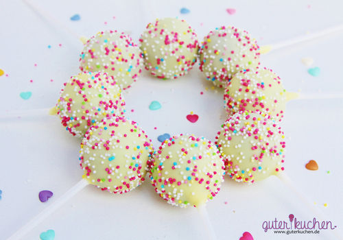 Cake pops zum geburtstag geburtstagst rtchen online bestellen - Cake pops 50 geburtstag ...
